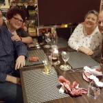 Dinner with Patrick and Silke December 1